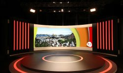 VuePix 4K Screen for Rio 2016 Olympics Studio
